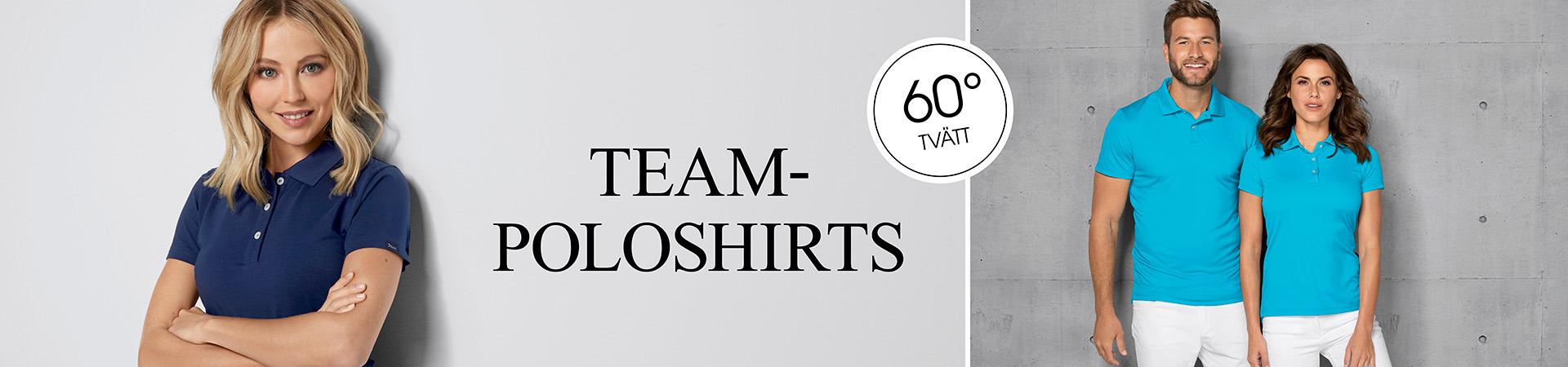 Teamkläder Piké Poloshirts - arbetskläder 7days